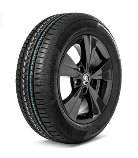 Колесо в сборе 205/60 R16 WinterContact TS850P Velorum Black